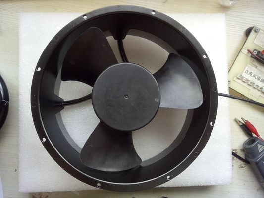 DC Axial Fan Round 12v 600CFM Quiet Cabinet High Press Cooling Fans 254X89mm